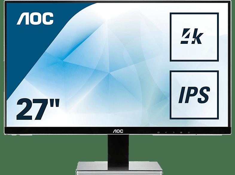 AOC U2777PQU 27 Zoll UHD 4K Monitor (4 ms Reaktionszeit, 60 Hz)