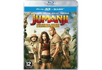 Jumanji: Welcome To The Jungle - 3D Blu-ray