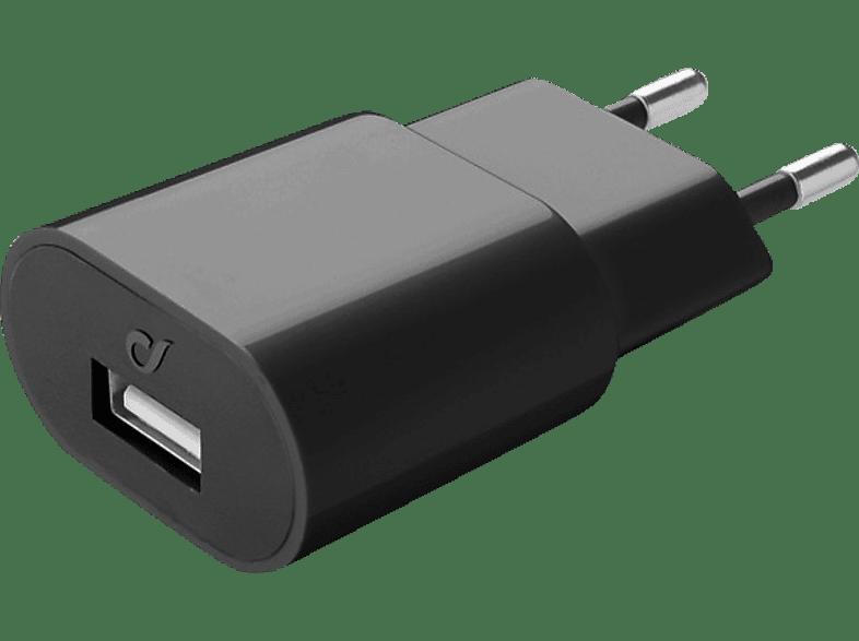 CELLULAR LINE 37762 USB Ladenetzteil, Schwarz