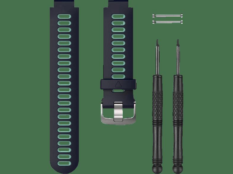 GARMIN 735XT, Ersatzarmband, GARMIN®, Forerunner® 230/235/630/735XT, Mitternachtsblau/Frostblau