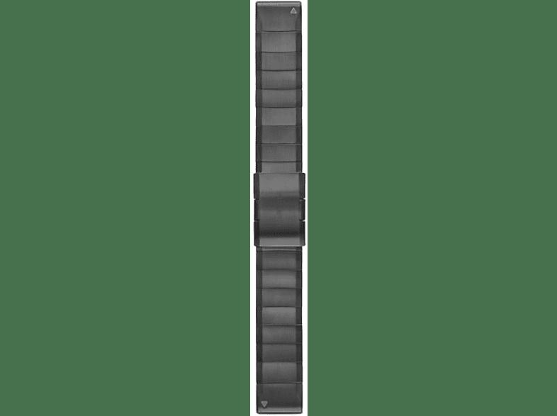 GARMIN Quickfit, Ersatzarmband, GARMIN®, Approach® S60 / Fenix® 5 / Forerunner® 935 / Quatix® 3/5 Saphir, Schiefergrau