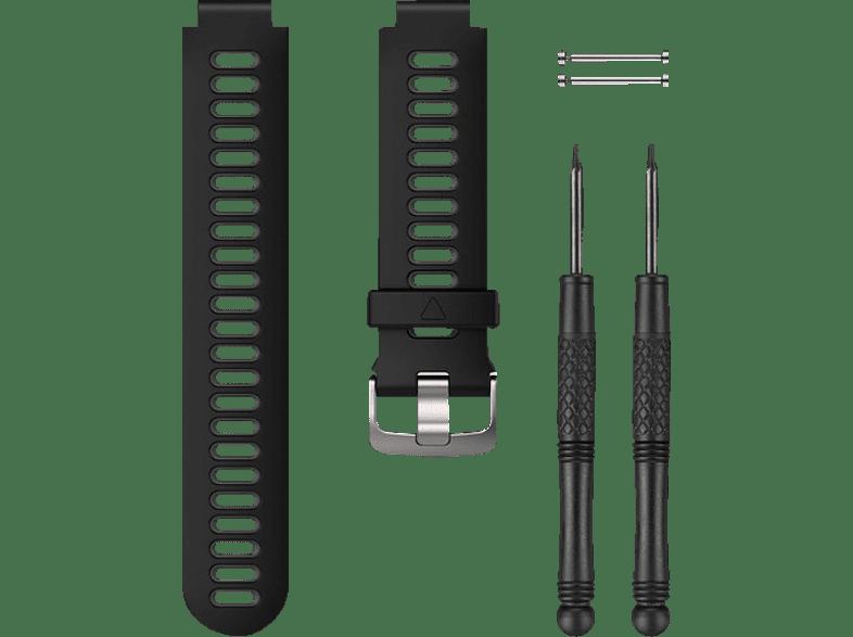 GARMIN 735XT, Ersatzarmband, GARMIN®, Forerunner® 230/235/630/735XT, Schwarz/Grau