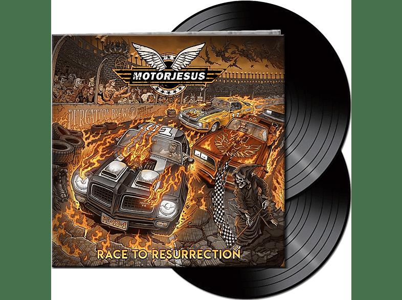 Motorjesus - Race To Resurrection (Lim.Black 2LP) [Vinyl]
