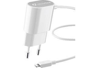 CELLULAR LINE IPH5 CHARGER WHITE - Caricabatteria (-)