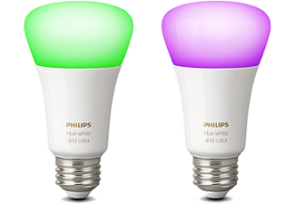PHILIPS Hue 10W A60 E27 x 2 Pack