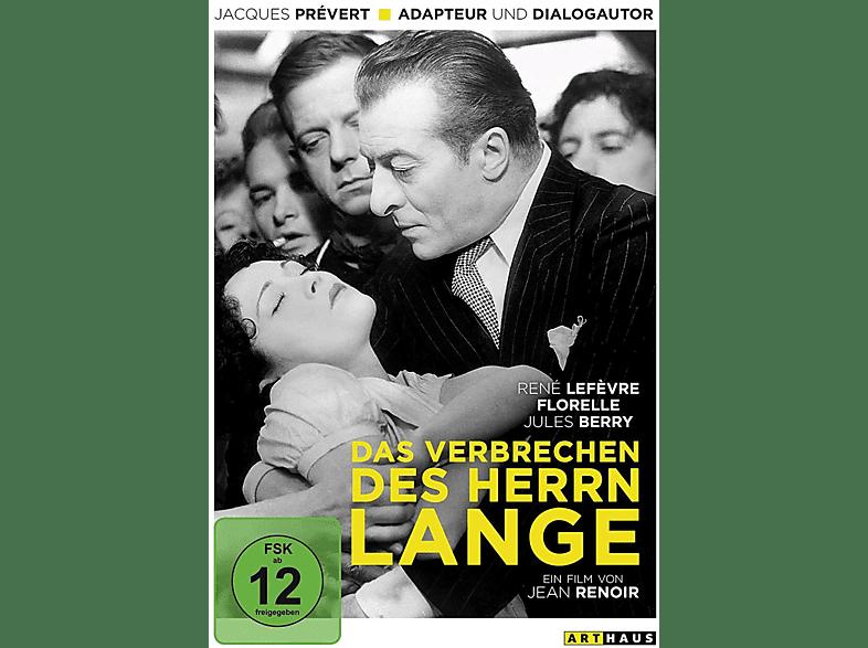 Das Verbrechen des Herrn Lange [DVD]