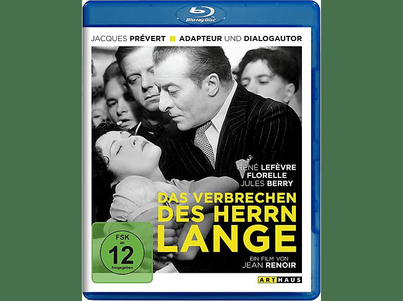 Das Verbrechen des Herrn Lange [Blu-ray]
