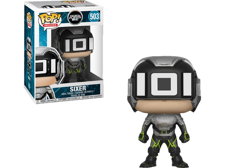 FUNKO UK POP! Movies: Ready Player One - Sixer Vinylfigur, Mehrfarbig