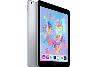 "Apple iPad (2018), 32 GB, Gris espacial, WiFi, 9.7"" Retina, 2 GB RAM, Chip A10 Fusion, iOS"