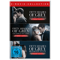 Fifty Shades of Grey 3-Movie Collection [DVD]