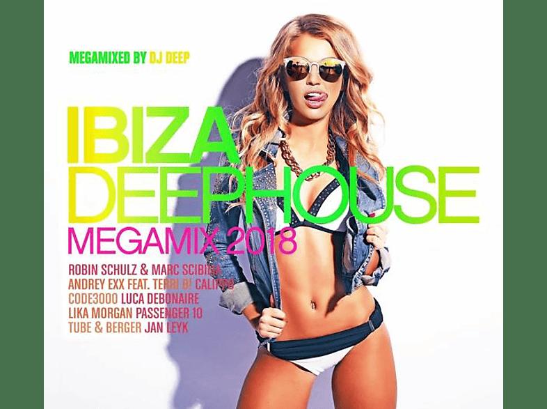 VARIOUS - Ibiza Deephouse-Megamix 2018 [CD]