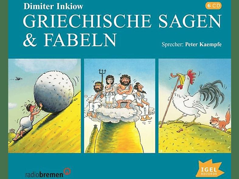Dimiter Inkiow - Griechische Sagen & Fabeln - (CD)