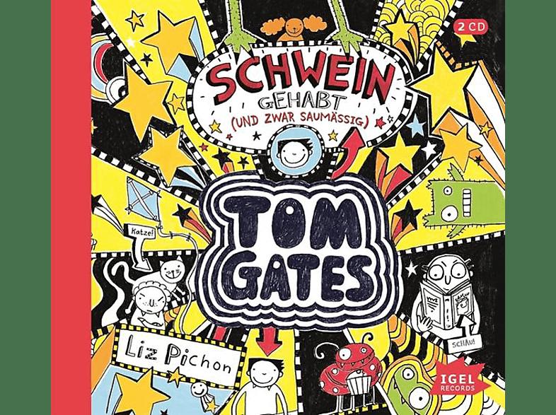 Liz Pichon - Tom Gates.Schwein gehabt (und zwar saumäßig) - (CD)
