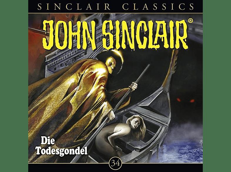 John Sinclair Classics-folge 34 - Die Todesgondel - (CD)