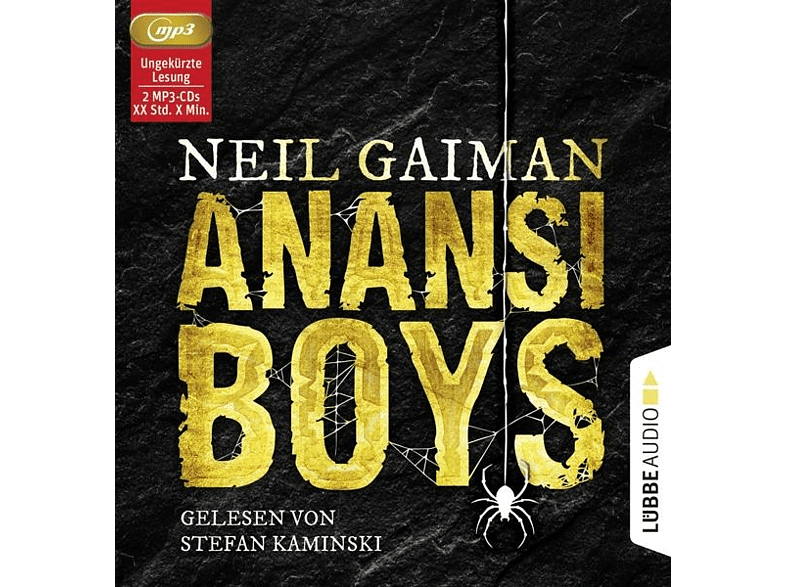 Neil Gaiman - Anansi Boys - (MP3-CD)
