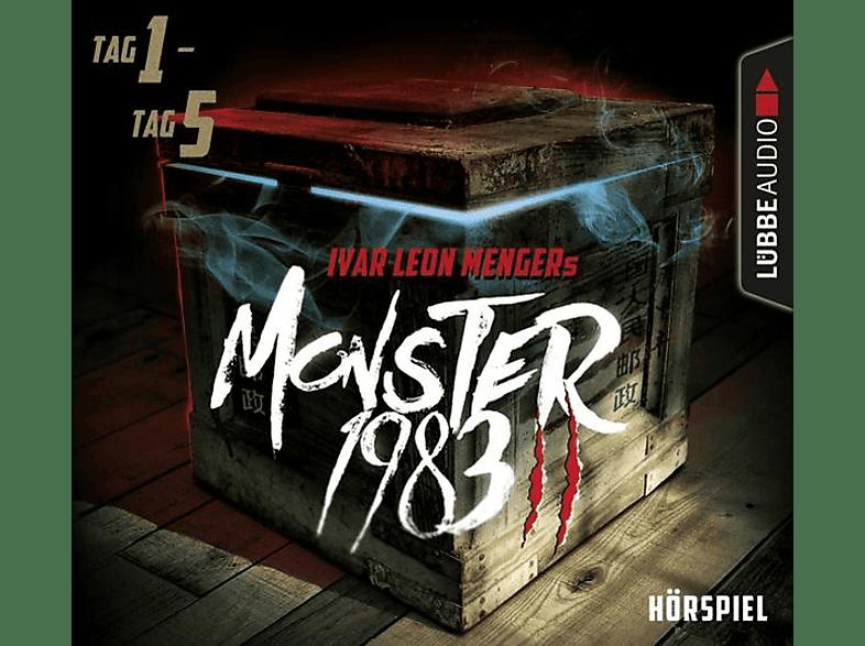 Ivar Leon Menger - Monster 1983,Staffel II: Folge 01-05 - (CD)
