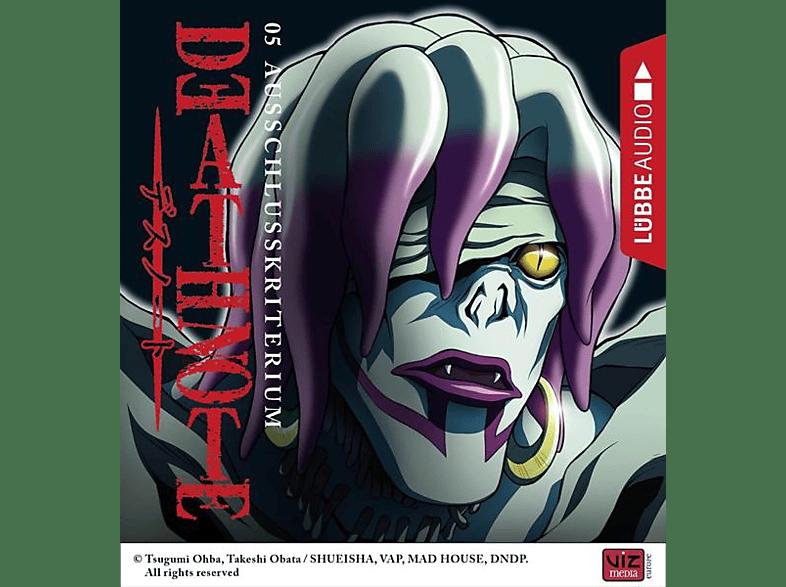 Tsugumi Ohba - Death Note-Folge 05 Ausschlusskriterium - (CD)