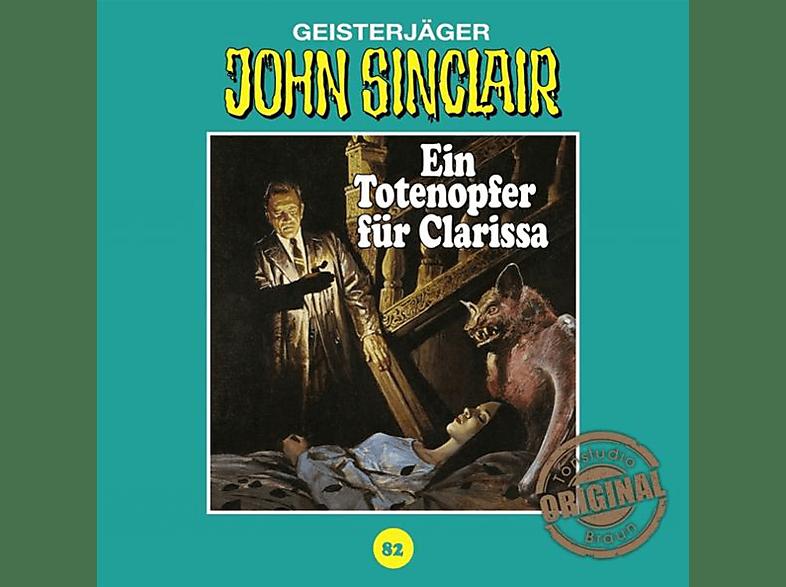 John Sinclair Tonstudio Braun-folge 82 - Ein Totenopfer für Clarissa - (CD)