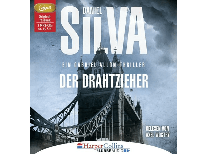 Daniel Silva - Der Drahtzieher - (MP3-CD)