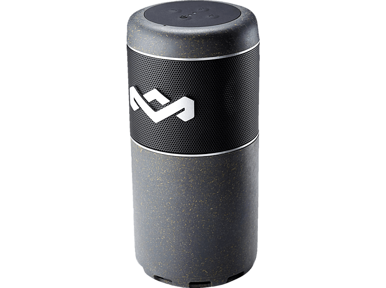 MARLEY EM-JA009-BKA CHANT SPORT Bluetooth Lautsprecher, Schwarz, Wasserfest