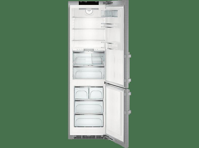 LIEBHERR CBNPes 4878-20  Kühlgefrierkombination (A+++, 148 kWh/Jahr, 2010 mm hoch, Edelstahl)