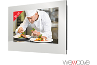 WEMOOVE WM-FMKTV220HEVC Kücheneinbau-TV (Flat, 21.5 Zoll/54 cm, Full-HD)