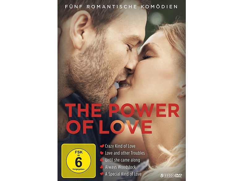 The Power of Love - Fünf romantische Komödien [DVD]
