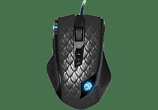 SHARKOON Gaming Maus Drakonia Black, kabelgebunden, schwarz
