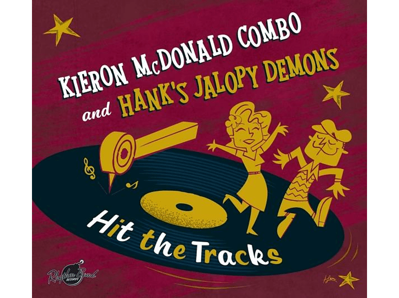 Kieron McDonald Combo, Hank's Jalopy Demons - Hit The Tracks (Split Album) [CD]