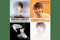 Federico Colli - Die Sonaten Vol.1 [CD]