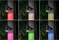 PHILIPS HUE LILY mehrfarbig, 3er Basis-Set Aussenleuchte, Schwarz