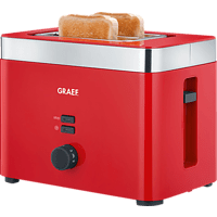 GRAEF To 63 Toaster Rot (888 Watt, Schlitze: 2)