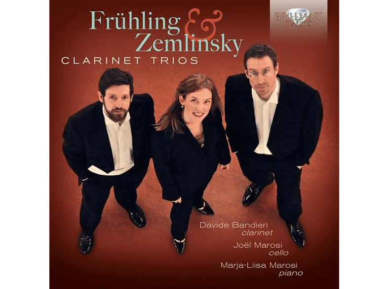 Davide Bandieri, Joel Marosi, Marja-Liisa Marosi - Clarinet Trios [CD]