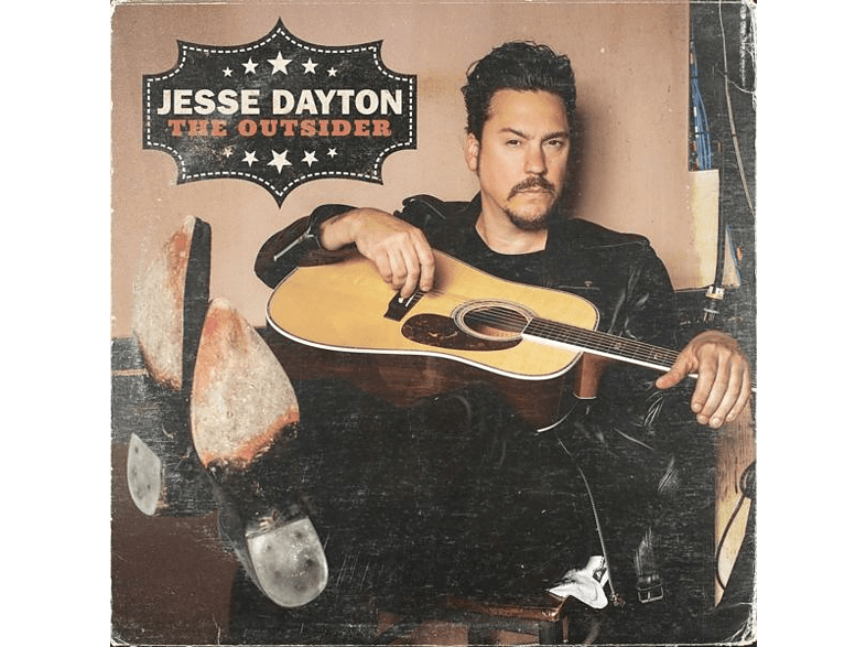 Jesse Dayton - The Outsider (Ltd.Standard Weight Black Vinyl) [Vinyl]