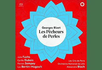 Julie Fuchs, Cyrille Dubois, Florian Sempey, Luc Bertin-Hugault, Alexandre Bloch, Orchestre National De Lille, Les Cris De Paris - Les Pêcheurs de perles  - (SACD)