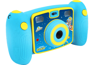 EASYPIX KiddyPix Galaxy Digitalkamera Blau, 1x opt. Zoom, LCD
