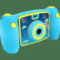 EASYPIX KiddyPix Galaxy Digitalkamera Blau, 5 Megapixel, 1x opt. Zoom, LCD