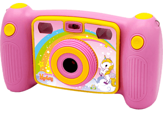 EASYPIX KiddyPix Mystery Digitalkamera Rosa, 1x opt. Zoom, LCD
