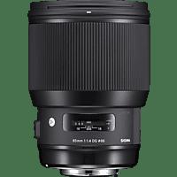SIGMA 321965 85 mm-85 mm f/1.4 DG, HSM (Objektiv für Sony E-Mount, Schwarz)