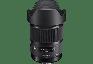 SIGMA 412965 - 20 mm f/1.4 ASP, DG, HSM, IF (Objektiv für Sony E-Mount, Schwarz)