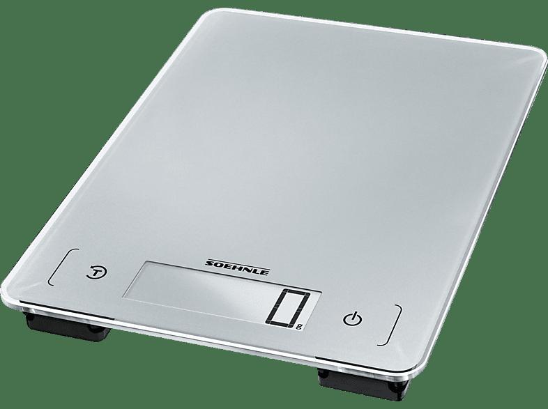 SOEHNLE 66225 KWD Page Aqua Proof Küchenwaage (Max. Tragkraft: 10 kg)