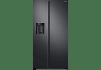 SAMSUNG RS6GN8321B1/EG Side-by-Side (389 kWh/Jahr, 1780 mm hoch, Schwarz/Edelstahl)
