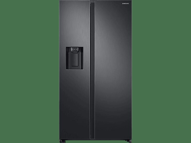 SAMSUNG RS6GN8321B1/EG  Side-by-Side (389 kWh/Jahr, A++, 1780 mm hoch, Schwarz/Edelstahl)