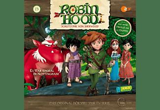 Robin Hood-schlitzohr Von Sherwood - (13)HSP z.TV-Serie-Es War Einmal In Nottingham  - (CD)