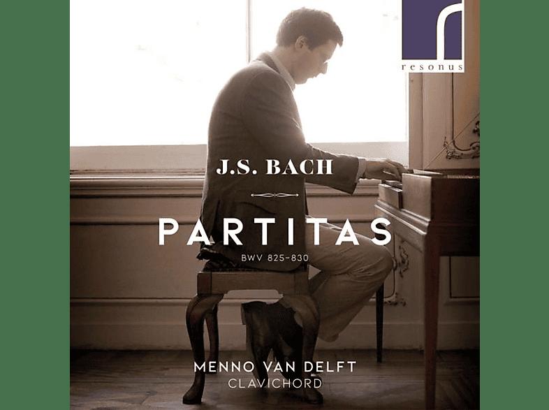 Menno Van Delft - Partitas [CD]
