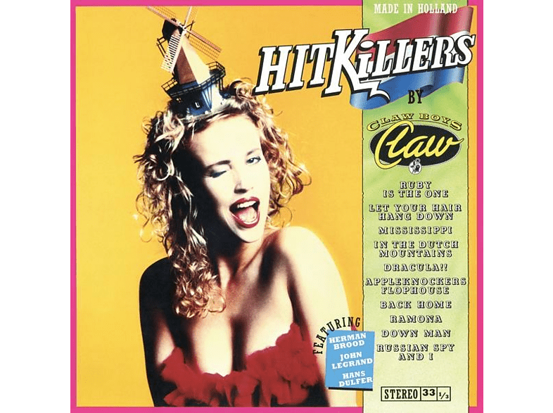 Claw Boys Claw - Hitkillers [Vinyl]