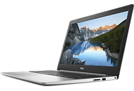 DELL INSPIRON 15 5570, Notebook mit 15.6 Zoll Display, Core™ i7 Prozessor, 8 GB RAM, 256 GB SSD, Radeon™ 530, Schwarz/Silber
