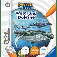 RAVENSBURGER tiptoi® pocket Wissen: Wale und Delfine tiptoi®