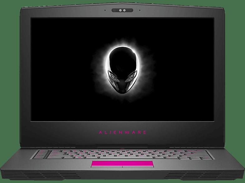 DELL ALIENWARE 15 R, Notebook mit 15.6 Zoll Display, Core™ i7 Prozessor, 16 GB RAM, 256 GB SSD, 1000 GB HDD, GeForce® GTX 1060, Silber
