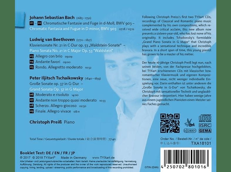 Christoph Preiß - Christoph Preis,16,Piano [CD]